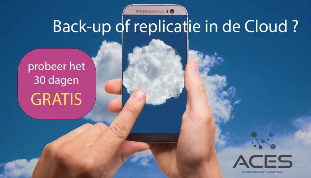 backup of replicatie in de cloud